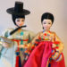 un couple de coréen en poupée
