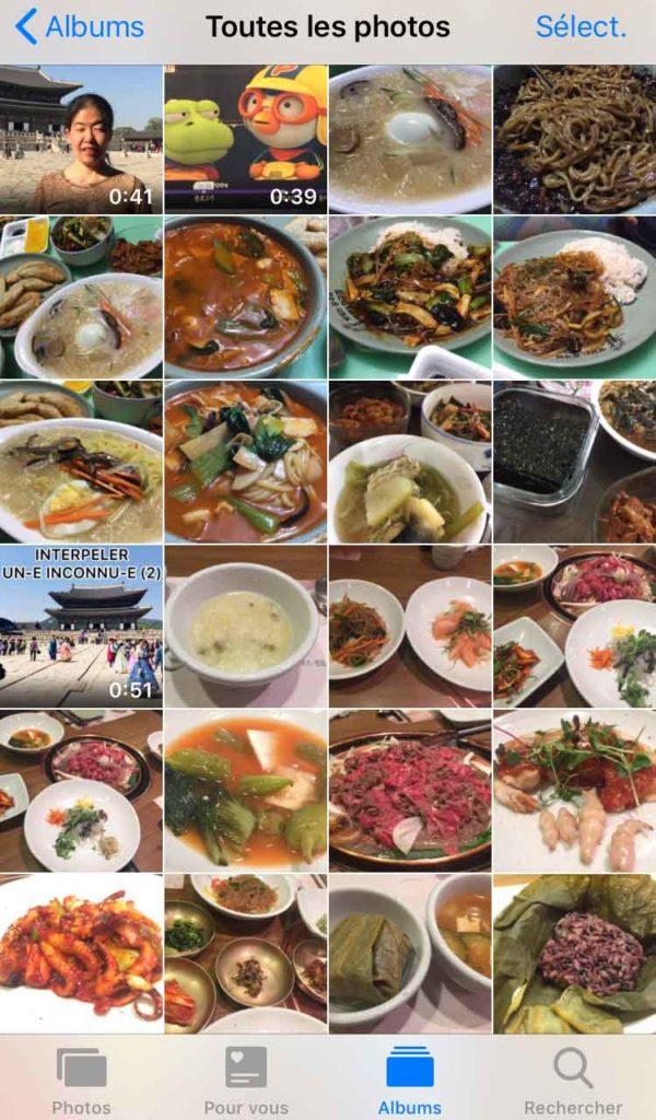 plats coreens delicieux