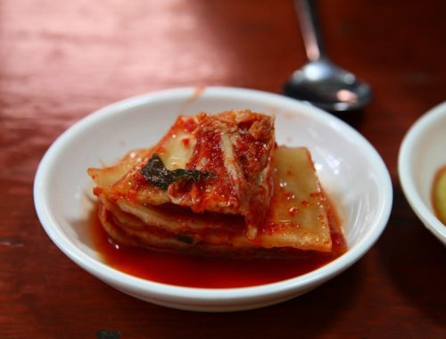 Kimchi de choux chinois